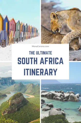 A Perfect South Africa Itinerary – 2 Weeks or Less in Cape Town, Kruger National Park Safari & Garden Route Itinerary + Luxury Accommodations | MonaCorona.com | A Millennial-Luxury Travel Blog