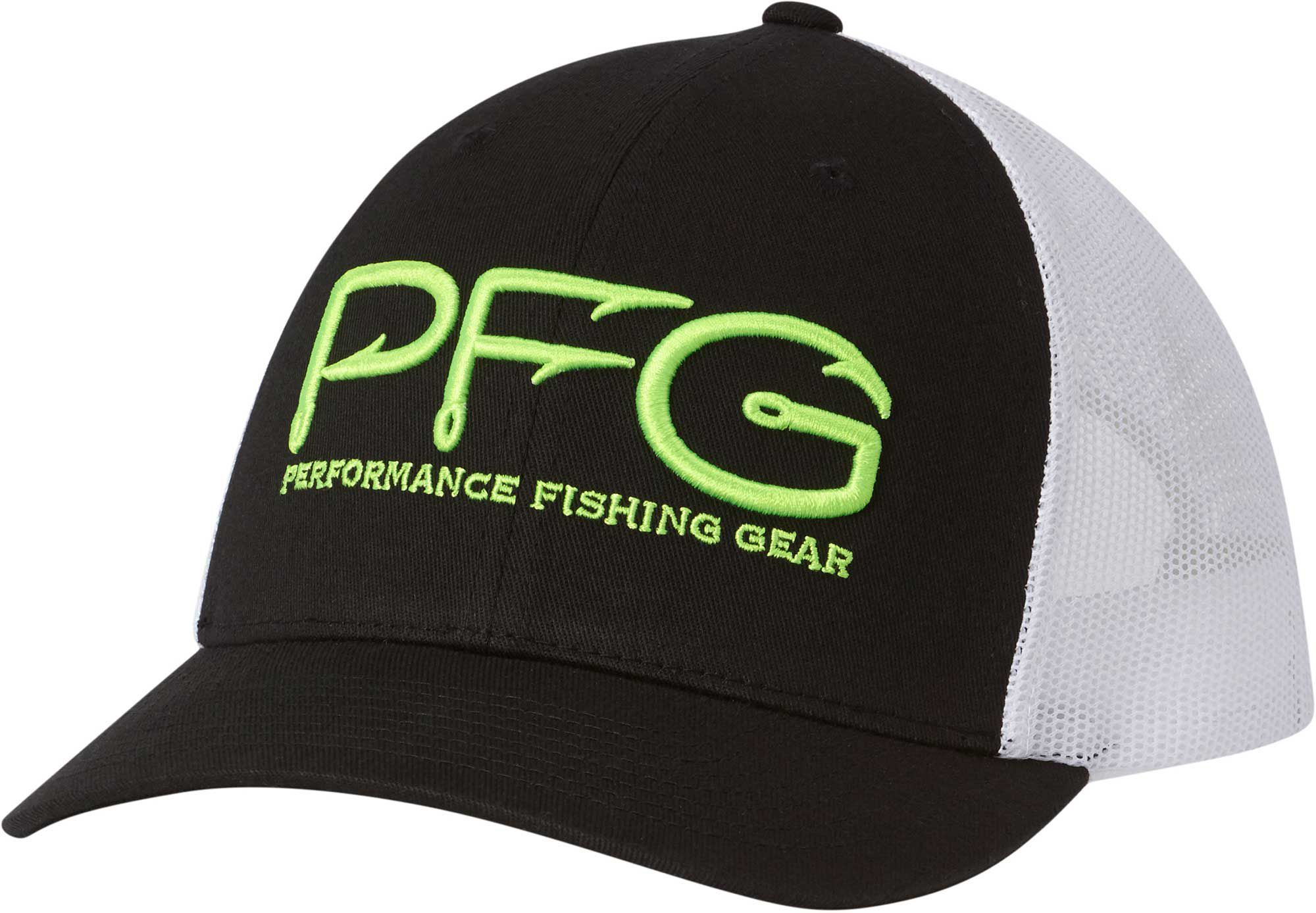 c0d98ab5864ec Columbia Sportswear Adults  Performance Fishing Gear Mesh Ball Cap ...