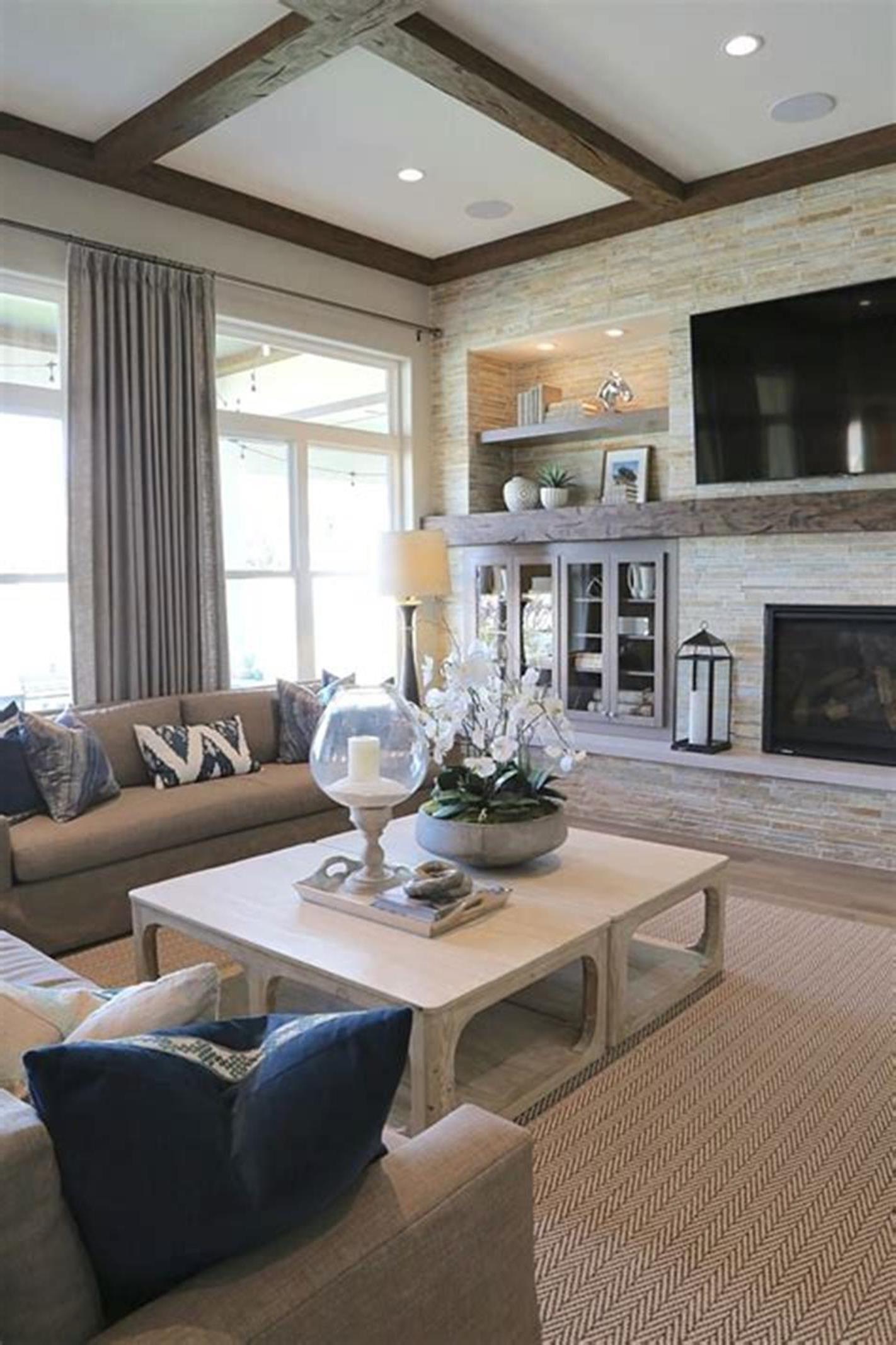 31 Amazing Modern Farmhouse Interior Design Ideas | Living ...