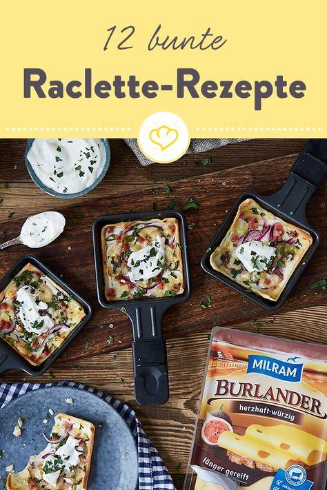 Ran an die Pfännchen: 12 Rezeptideen für deinen Racletteabend #racletteideen