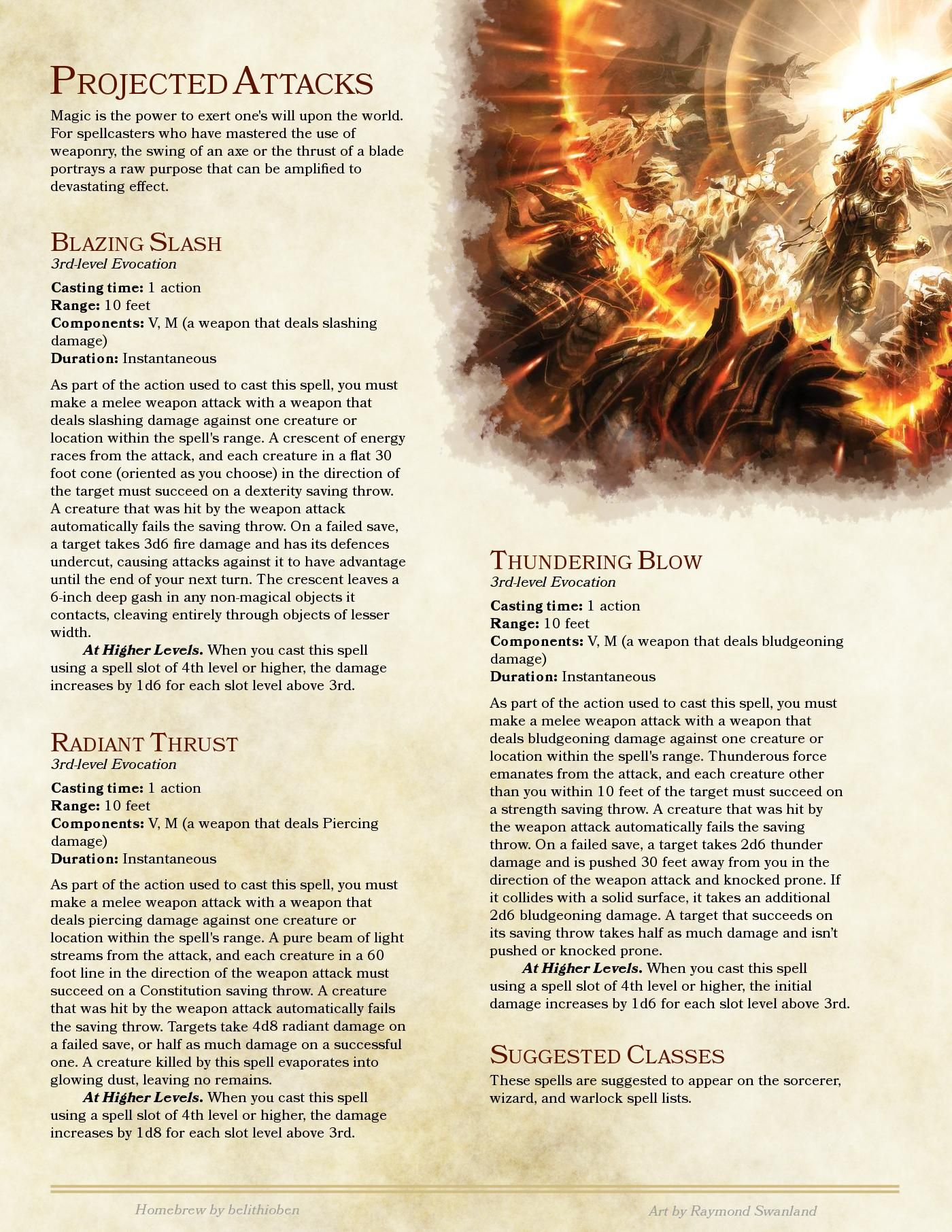 Dnd 5e Release : release, Release, Power, Weapon, Projected, Attacks, Homebrew,, Dungeons, Dragons,, Brewing
