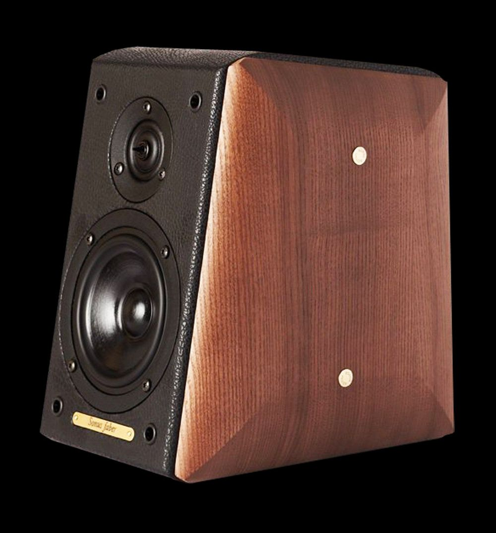 sonus faber toy speakers wood finish collected | ID in 2019