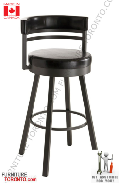 Swivel Bar Stool Made In Canada Madeincanada Barstool Furniture Toronto