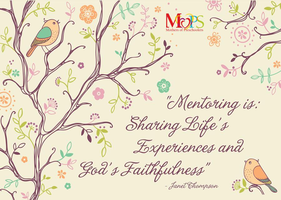 Mentor Mom Thank You Card  Mops     Flourish