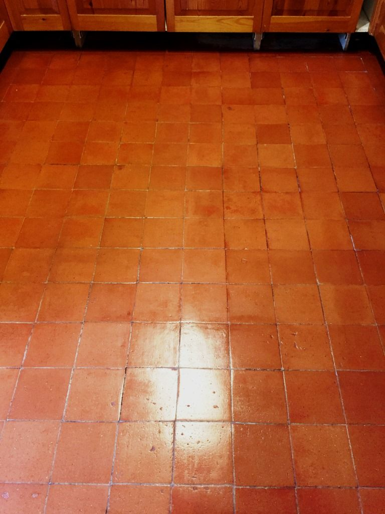 Not too long ago i visited a client who had just moved into a lovely quarry tiled kitchen floor deep cleaned and sealed in milton dailygadgetfo Choice Image