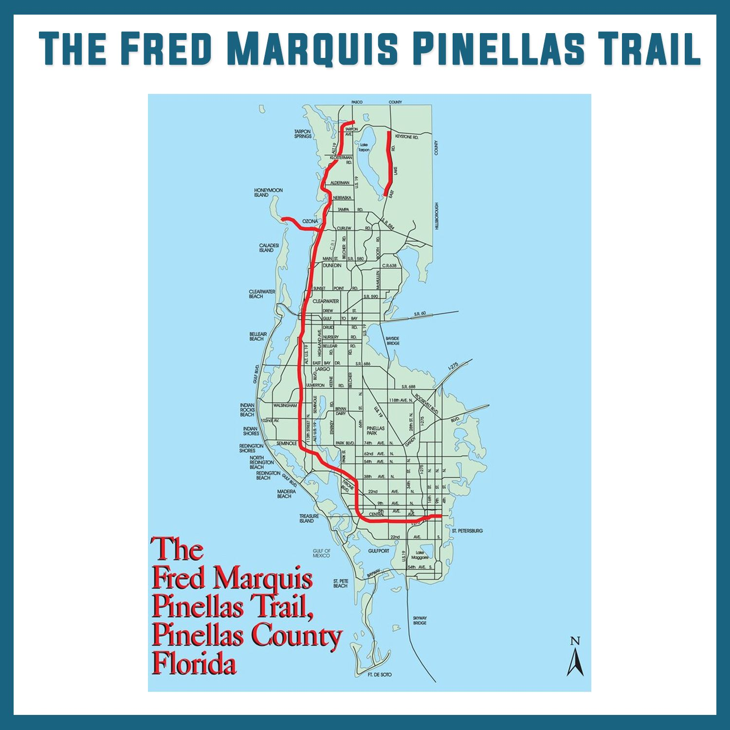 The Fred Marquis Pinellas Trail Bike Trail Tampa Bay University
