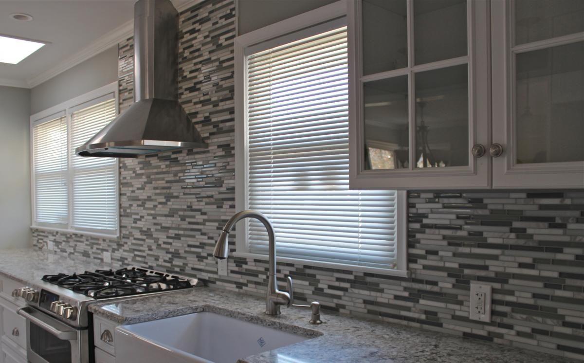 Grey Mosaic Kitchen Wall Tiles | http://jubiz.info | Pinterest ...