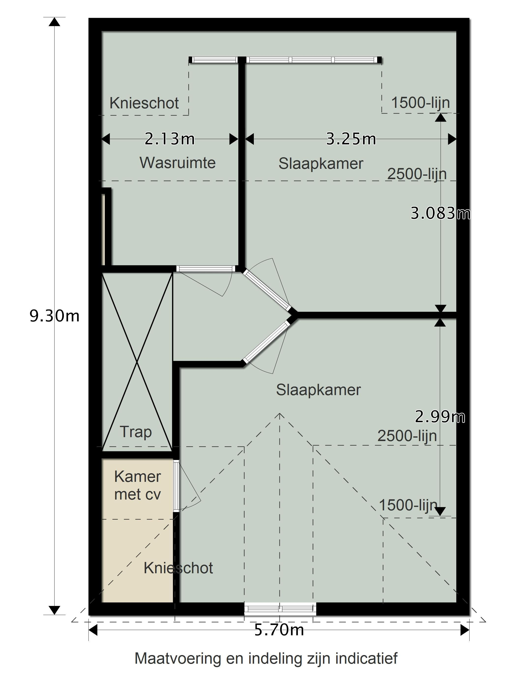 Indeling zolder | zolder | Pinterest | Attic, Attic rooms and Bedrooms