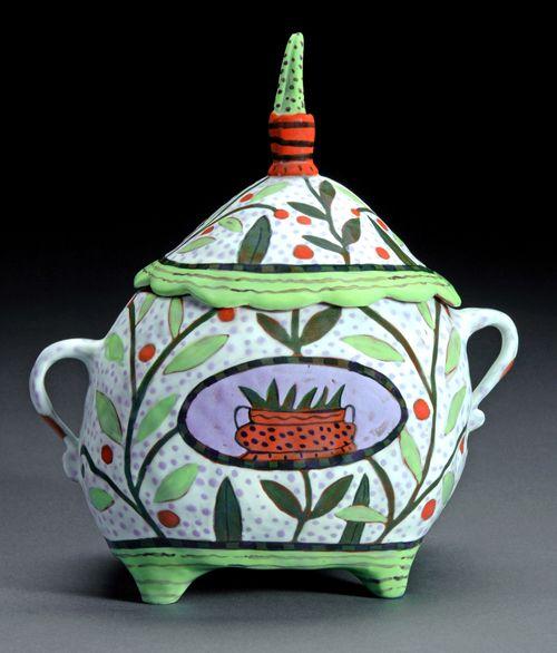 white jar, Nancy Gardner
