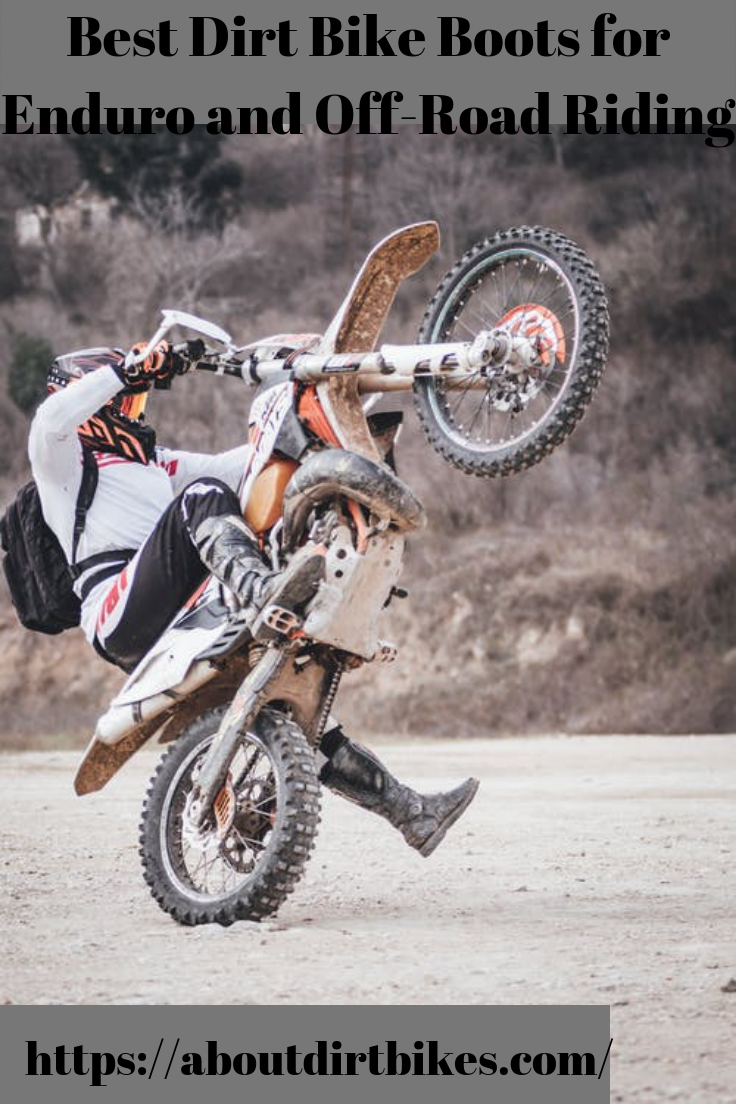 Learn About The Best Enduro And Off Road Riding Dirt Bike Boots