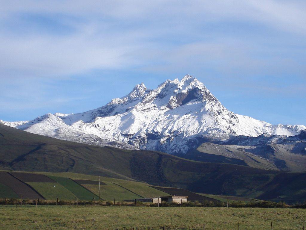 Volcan Carihuairazo Ecuador Paisajes Ecuador Ecuador Paisajes