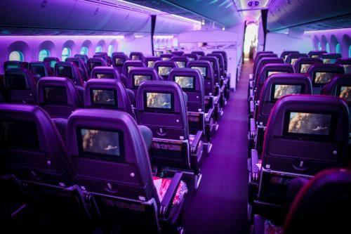 Virgin Atlantic Upgrade >> Mood Lighting and Menu Service in Economy?! Virgin Atlantic's Classy New Upgrade | Travel Tips ...