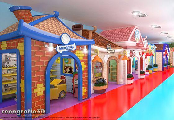 Brinquedotecas | Brinquedotecas, Parque infantil, Espaços ...