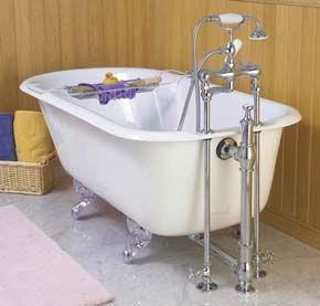 New European Tub Clawfoot Bathtub Clawfoot Bathtub