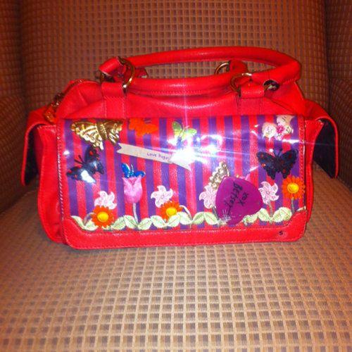 Hot Pink Betsey Johnson Handbag  - $19