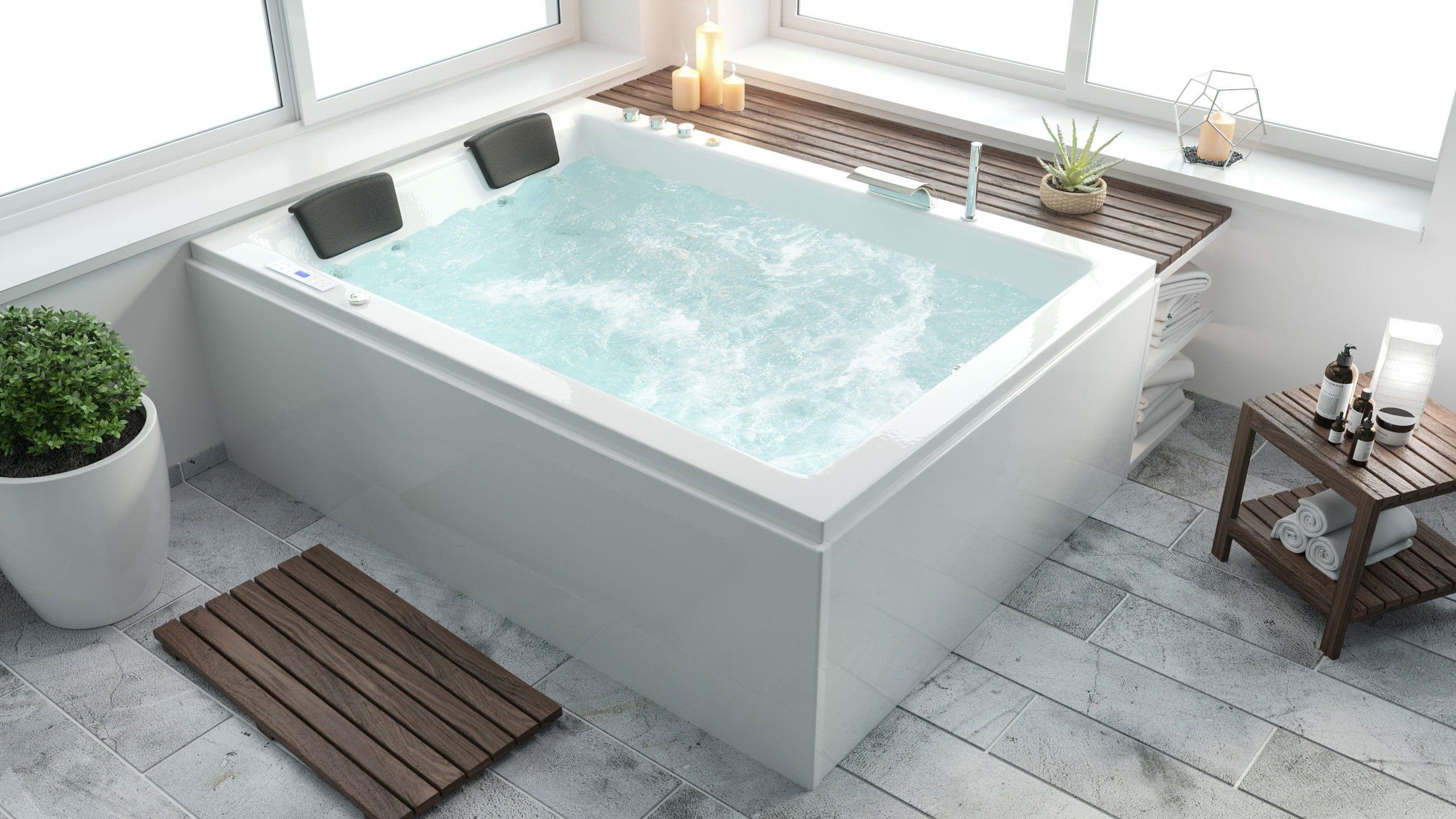Andalusia Universal Premium Whirlpool Links 180x130x62 Cm Badewanne Badewanne Fur Zwei Badewanne Fur 2