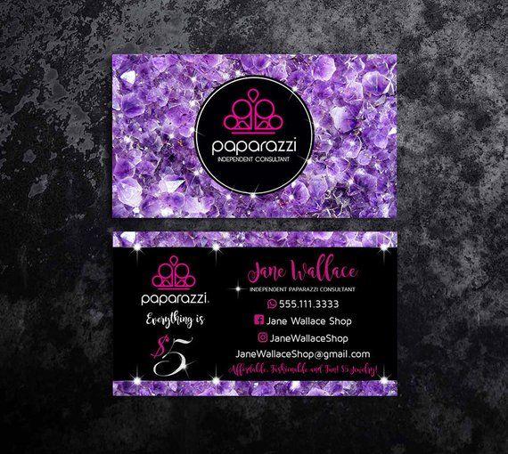 paparazzi business cards templates vistaprint paparazzi business cards paparazzi accessories paparazzi jewelry business paparazzi printables - Paparazzi Business Card Template
