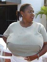 Biggest breasts bbw Black