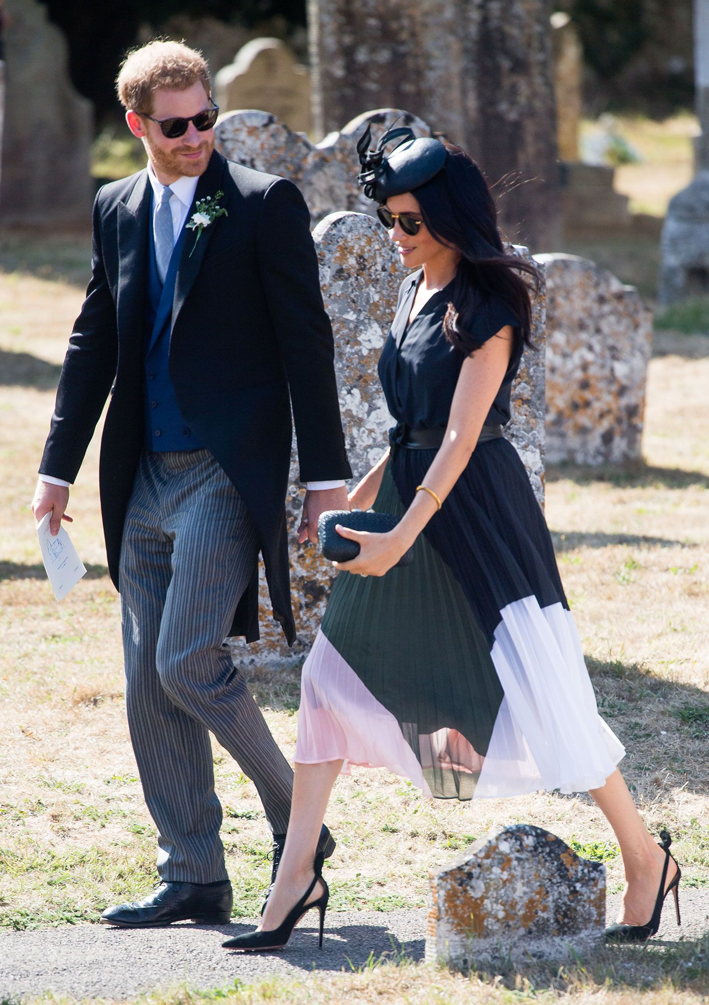 Meghan Markle and Prince Harry Hold Hands at Romantic