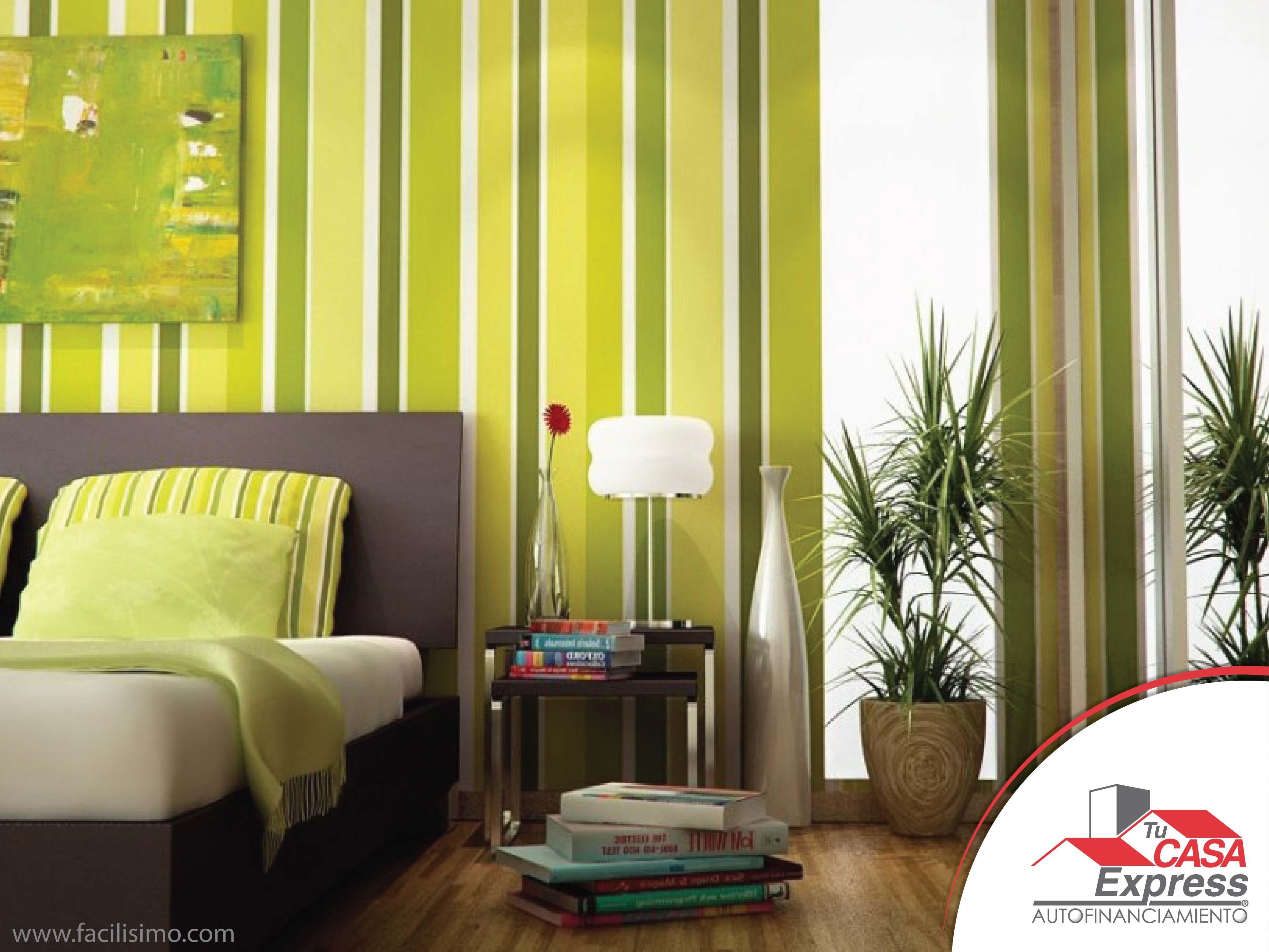 Atrévete a utilizar colores brillantes, para no saturar el ambiente ...