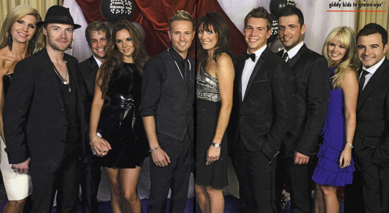 westlife with wives and ronan with yvonne keating westlife pinterest westlife westlife. Black Bedroom Furniture Sets. Home Design Ideas