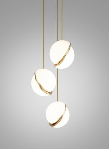 Mini Crescent Chandelier By Lee Broom Light Fixtures Interior Lighting Bathroom Light Fixtures