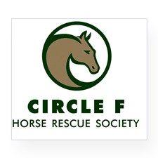 Circle F green large Wine Label