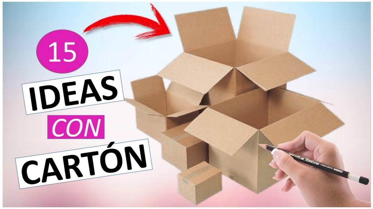 15 manualidades f ciles y r pidas con cajas de cart n - Manualidades para adultos paso a paso ...