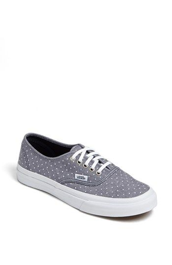 f277cbafb2 Vans  Authentic - Slim  Polka Dot Sneaker (Women) available at  Nordstrom