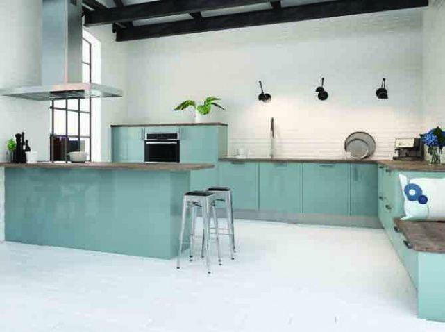 cuisines design nos mod les pr f r s cuisine sam pinterest design bleu ciel et bleu. Black Bedroom Furniture Sets. Home Design Ideas