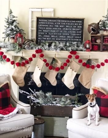 jingle bells christmas oversized framed sign 26x38 Christmas