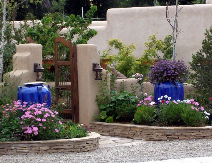 Cobalt Blue Pots At Front Door Large Pots Tall Pots Plants Garden Pots Blue Garden Container Gardening
