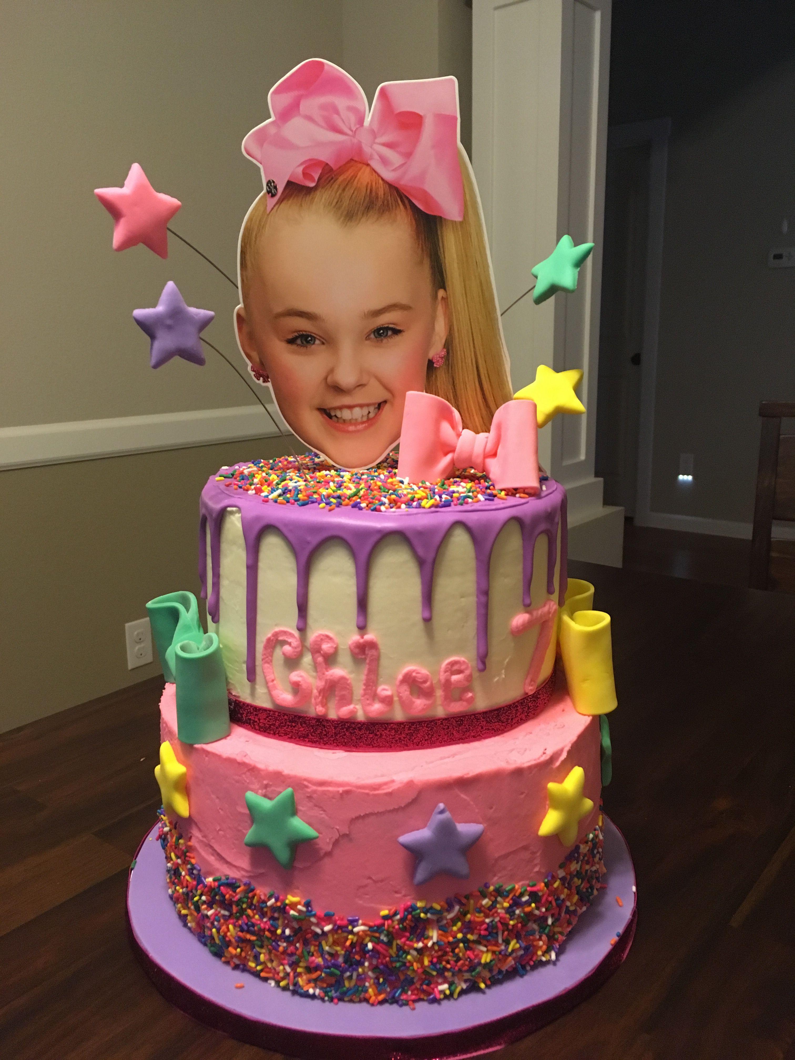 Jojo Siwa Cake Baked By Jen Jojo Siwa Birthday Cake