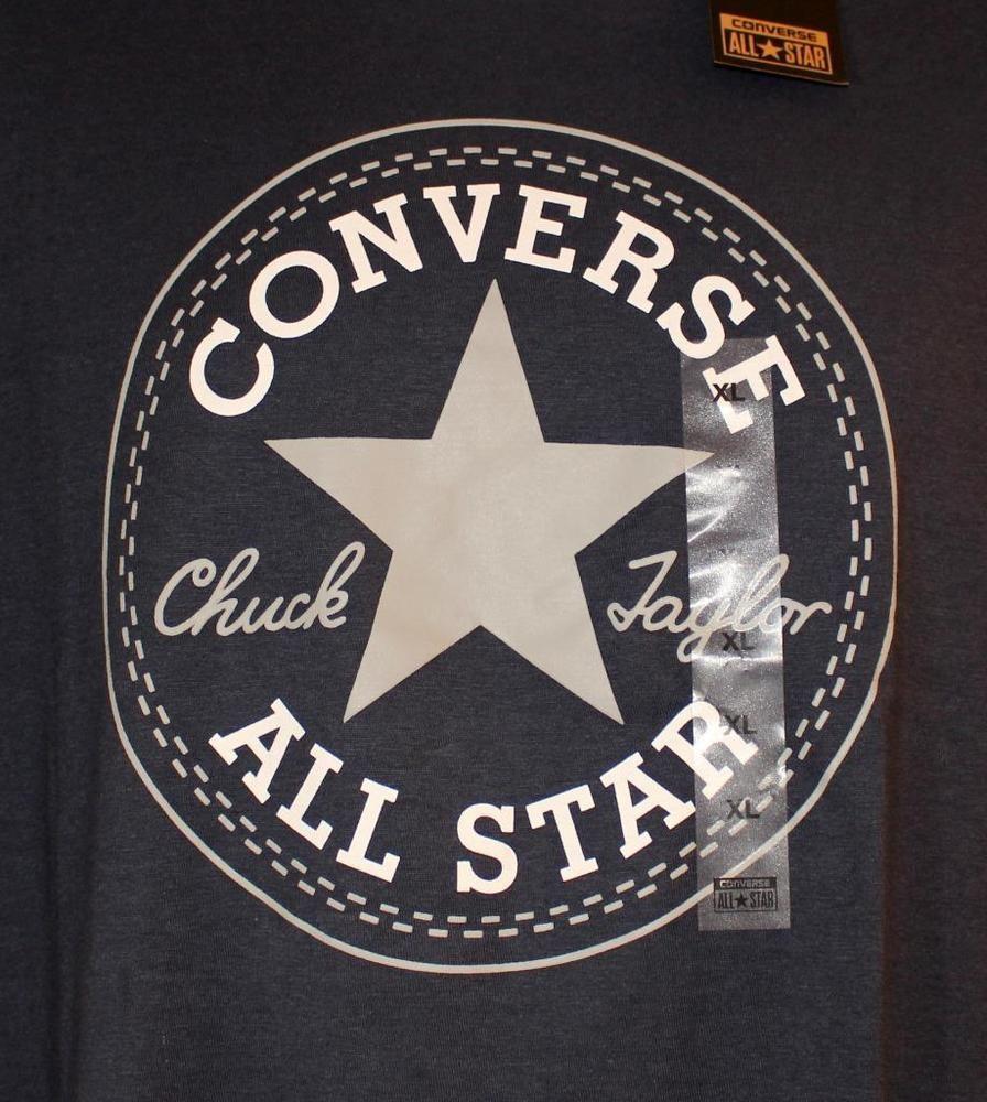 chuck taylor t shirt blue
