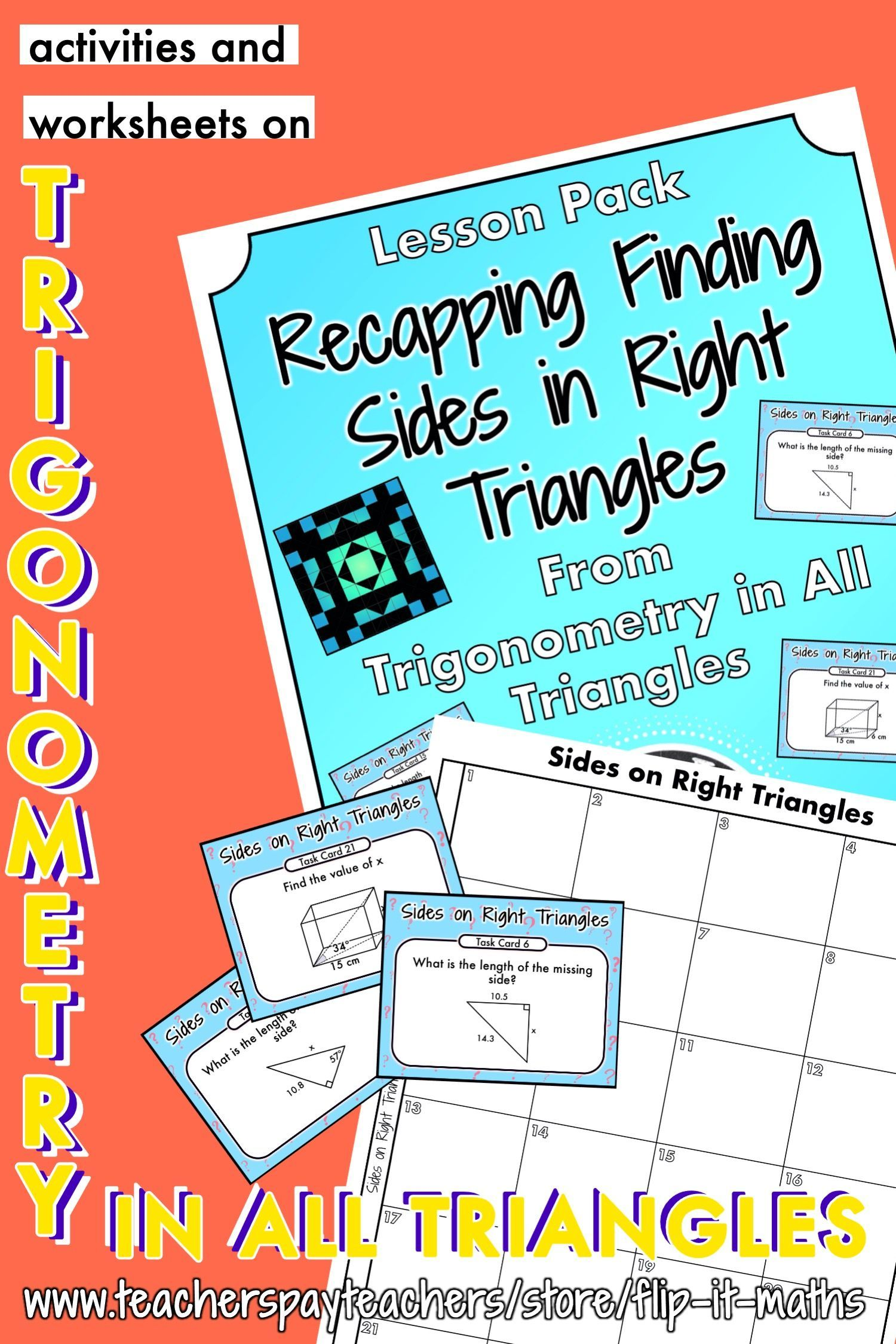 Finding Sides In Right Triangles Recap In