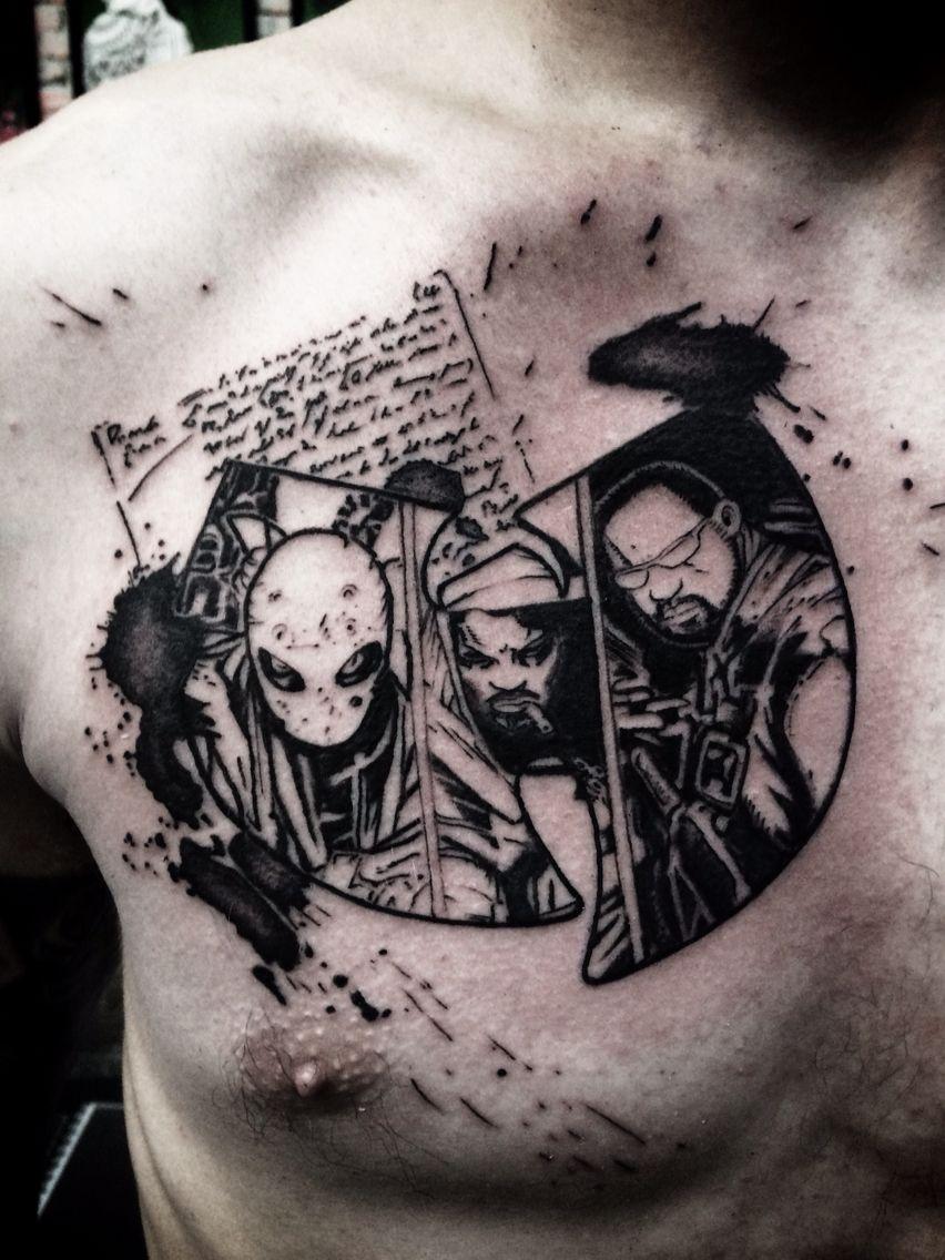 6009ed658 Wu tang clan comics tattoo Enigma Instagram : latelierartshop ...