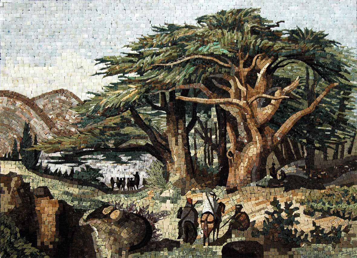 Artists Paint Trees
