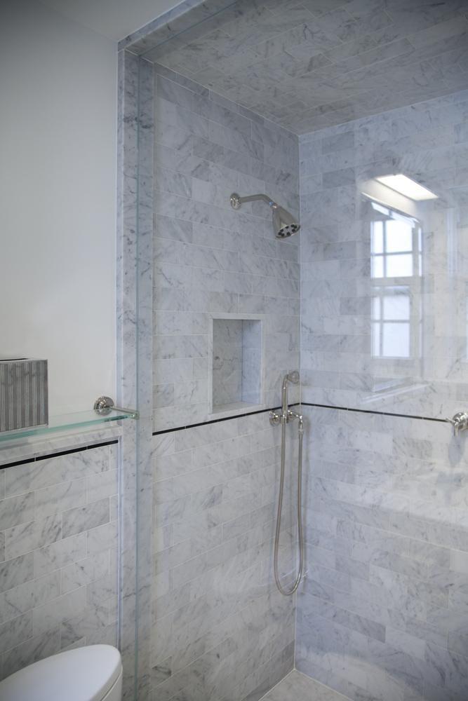 Good Marble Bathroom Tile Part 5 Carrara Marble Subway Tile Shower