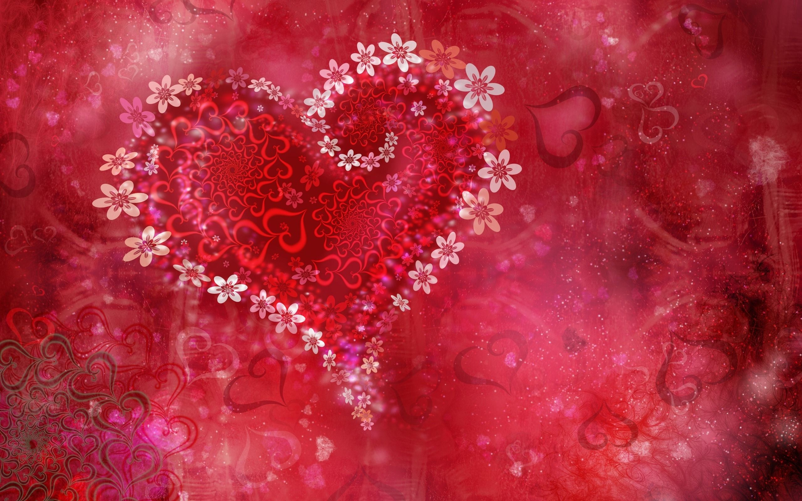 Nothing But The Real Thing Heart Wallpaper Valentines Wallpaper Flower Heart