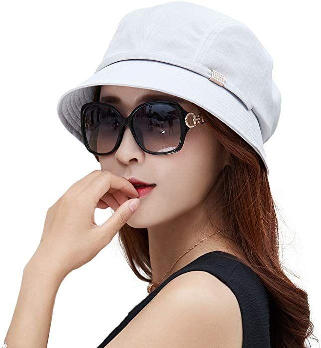 85e260c8 Siggi Bucket Boonie Cord Brim Cap Fishing Hiking Sun Hats for Women UPF50+  Packable Gray at Amazon Women's Clothing store: