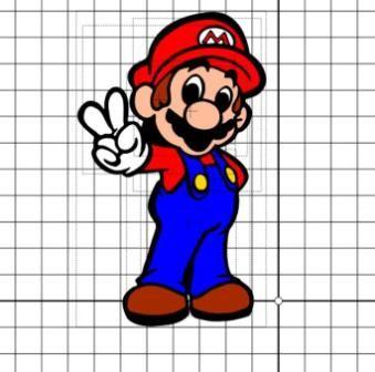 Lilacs And Lupines Super Mario Svg File Super Mario Birthday Mario Mario Bros Party