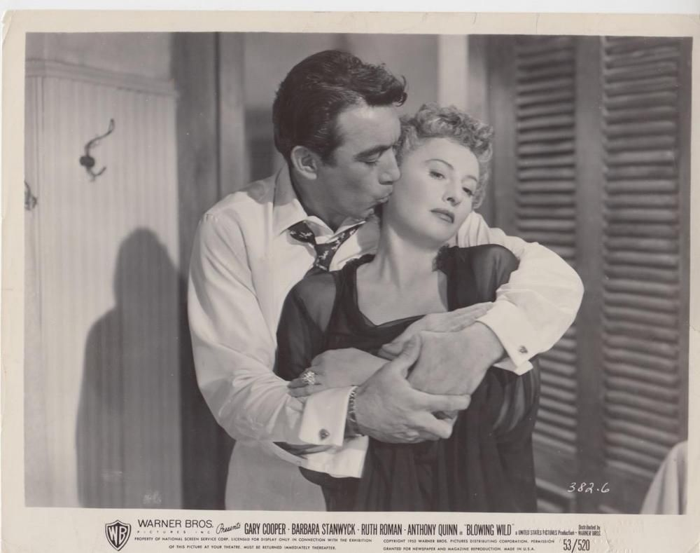 Details About Scene From Blowing Wild 1953 Vintage Movie Still Barbara Stanwyck Vintage Movies Movies