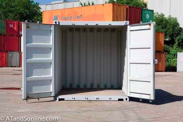 One Trip Ten Foot Shipping Containers Storage Containers Storage Container