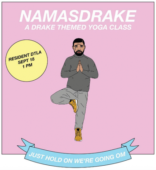 Namasdrake Is Your New Yoga Hip-Hop Mashup Class