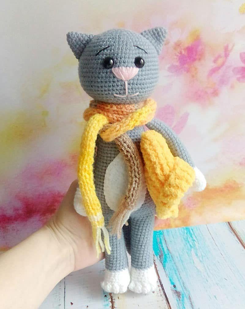 Free Crochet Cat Pattern Crochet Crochet Cat Pattern Crochet