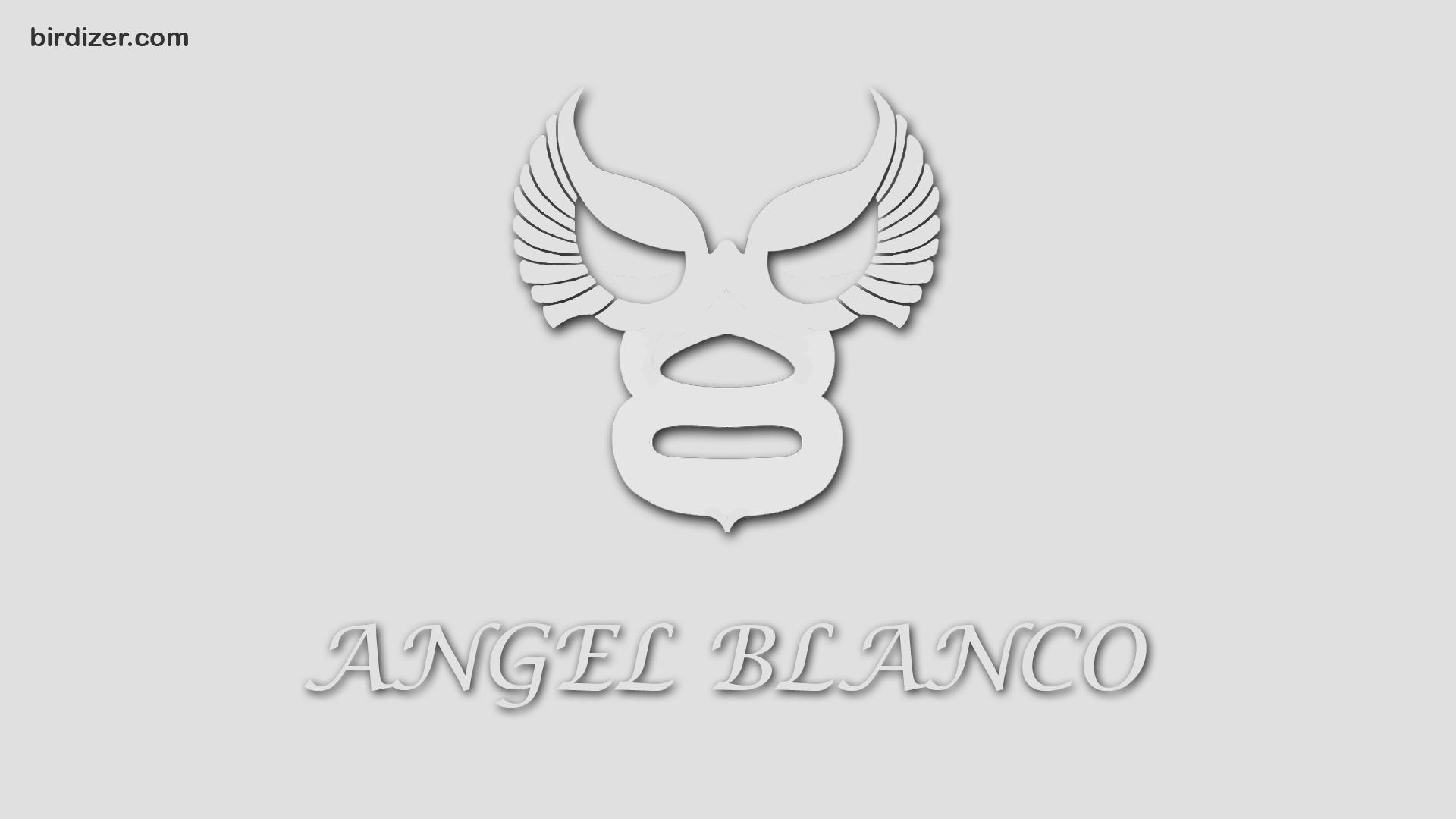 Angel Blanco Mascara Wallpaper