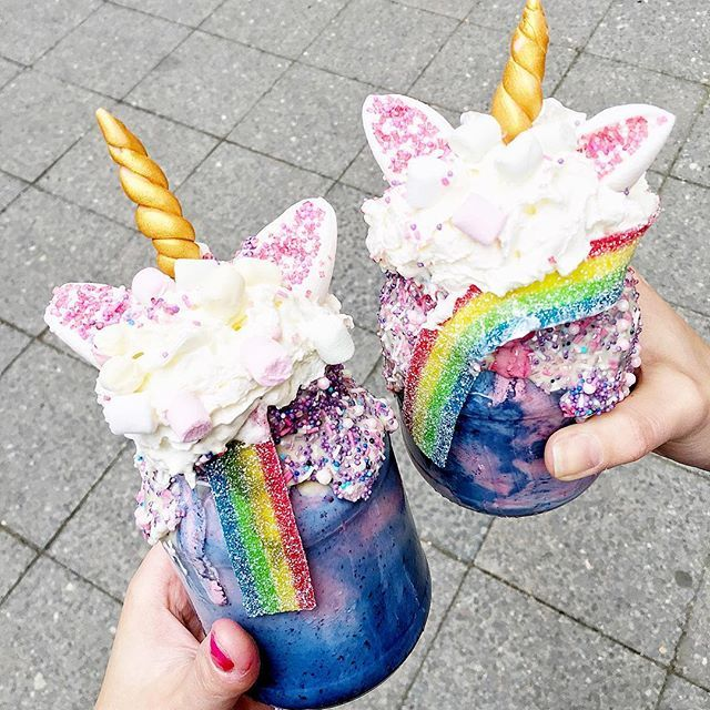 Who Wants A Unicorn Freakshake Meeee Ahhh Sehen Diese