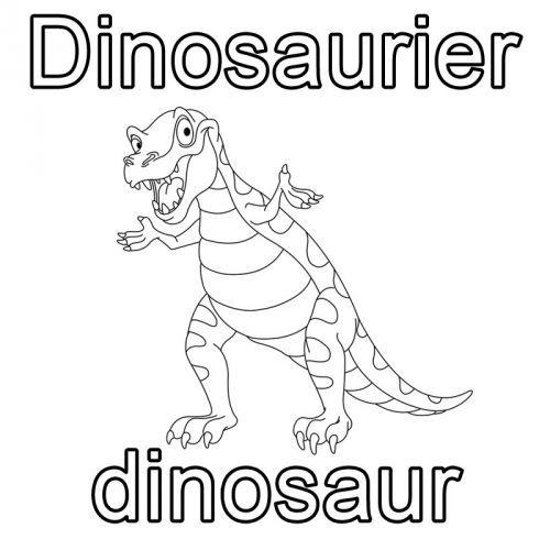 Kostenlose Malvorlage Englisch Lernen Ausmalbild Englisch Lernen Dinosaurier Dinosaur Zum Ausmalen Kostenlose Malvorlagen Ausmalbild Englisch Lernen