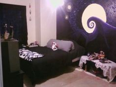 nightmare before christmas bedroom theme - Google Search | room ...