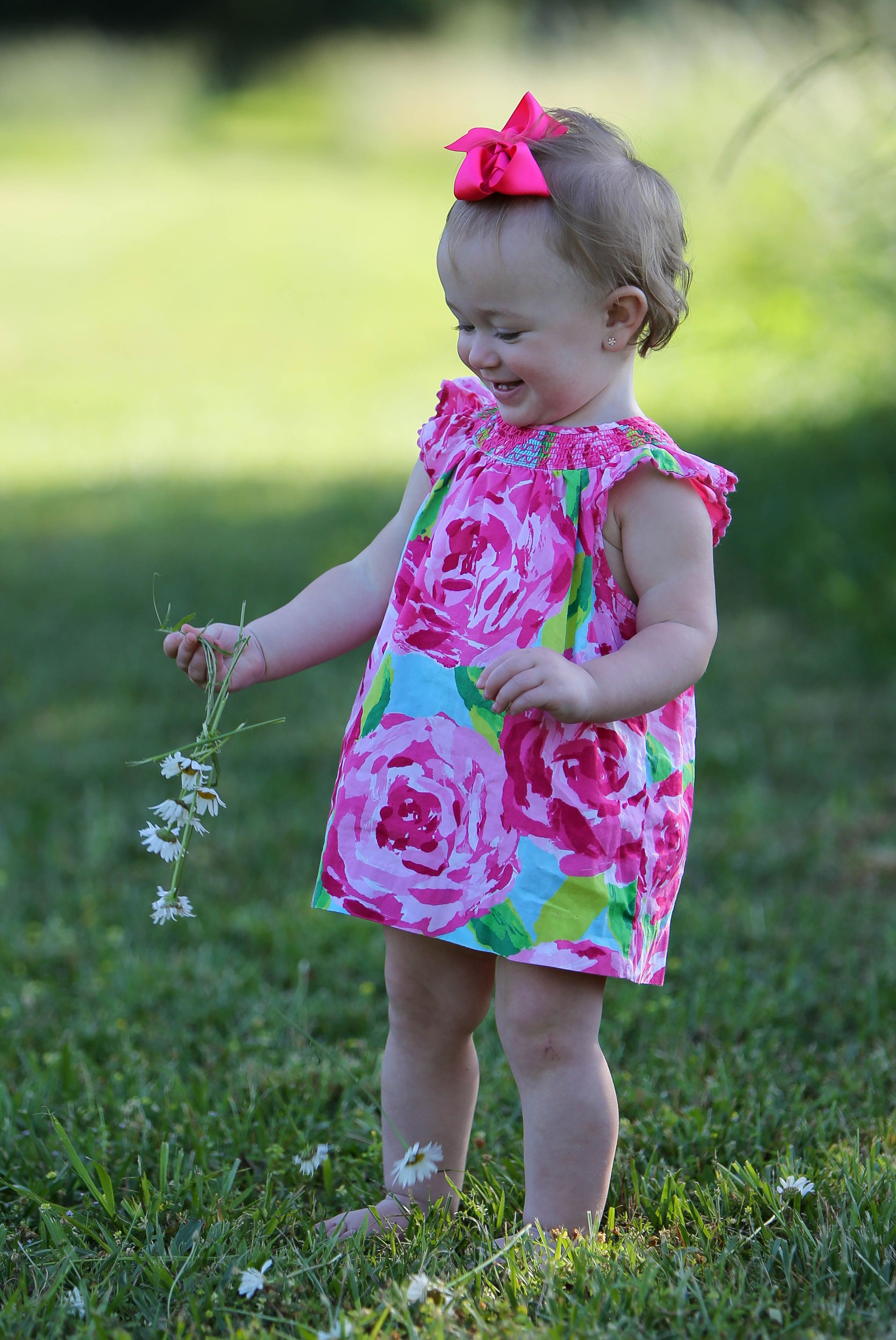 Lilly Pulitzer baby 3 Could she be cuter I do not think so